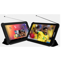 Tablet 7 Pol Android 4 Wifi Celular 2 Chip 3g+tv Digital+gps