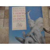 Livro Deuses E Heróis Do Olimpo