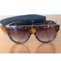 Oculos De Sol Celine Shadow Cor Havanna Novo...!!!