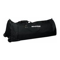 Promoção! Rockbag Rb 22503 Bag P/ Ferragens Bateria C/ Rodas