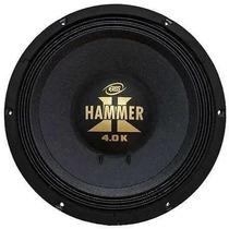 Alto Falante Woofer Eros E 12 Hammer 4.0k 2000w Rms 12 Poleg