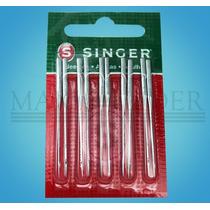 Agulha Industrial Galoneira Singer 3651 Kit C/10 Nº09