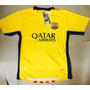 Camisa Barcelona 2014/2015 Amarela Messi N 10 + Brinde