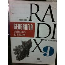 Livro Projeto Radix Geografia 9o Ano