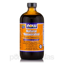 Natural Resveratrol Concentrado Líquido - 16 Fl. Oz (473 Ml)
