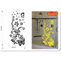 Adesivo Box Banheiro Blindex Parede 110cmx45cm Frete Grátis
