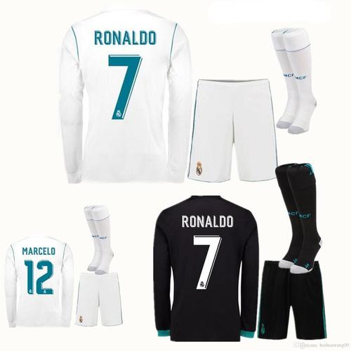 Kit Camisa Shorts E Meião adidas Real Madrid Original 2018 à venda ... b6bb02619072f