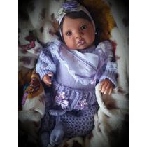 Bebê Reborn - Boneca Tatá Negra - Por Encomenda!