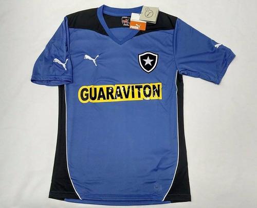 Camisa Botafogo Oficial Puma Azul 2014 Treino C  Nota Fiscal bace8f41e653d