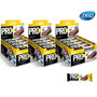 Kit 3 Cx Pro 30 Vit Bar Protein Trio - Banana
