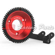 Kit Roda Fônica Opala 6cc Vermelha - Fueltech