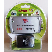 Modulador Conversor Av Rf Universal P/ Tv, Sky Hdtv Bivolt
