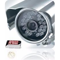 Câmera Lente De 12mm E 36 Super Leds Identificação Veículos