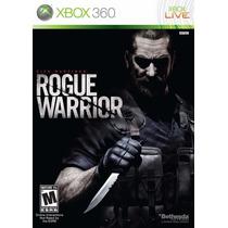Jogo Xbox 360 Rogue Warrior Original E Lacrado Midia Fisica