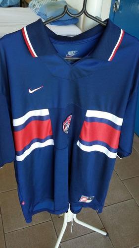 81b7018551 Camisa Da Seleção De Futebol Dos Estados Unidos De 1996 Rara