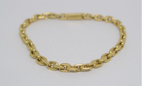 756c7abeefa19 Pulseira Cartier Maciça De Ouro 18k 750. Preço  R  2849 Veja MercadoLibre