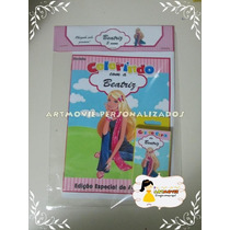 Kit Colorir Barbie Com Giz De Cera ( Artmovie)