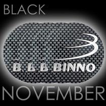 Boton Emblema Logo Calotinha Alumínio 55mm Rodas Binno
