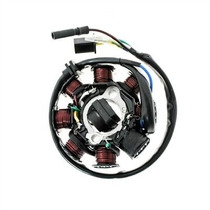 Estator Bobinas Dafra Laser 150 (corrente Contínua - Cc)