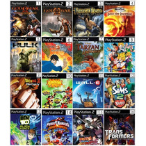 Lote 40 Patch Gta Ps2, Dragon Ball Z Ps2, Naruto Ps2, Patch