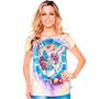 Linda Camiseta Feminina De São Miguel Arcanjo - Camisa