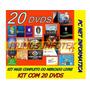 Kit Dvds Profissional P  Formatação Pc E Notebook Completo