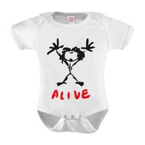 Body Baby Infantil Banda Pearl Jam Alive 5