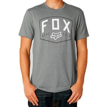 Camiseta Fox Loop Out Cinza P(s)