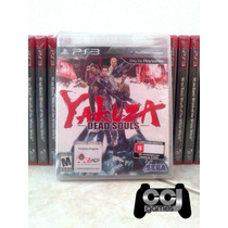 Yakuza Dead Souls - Ps3 - Novo - Lacrado - Promoção