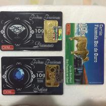 Cartão Ourominas Dólar - 10g De Ouro 24k