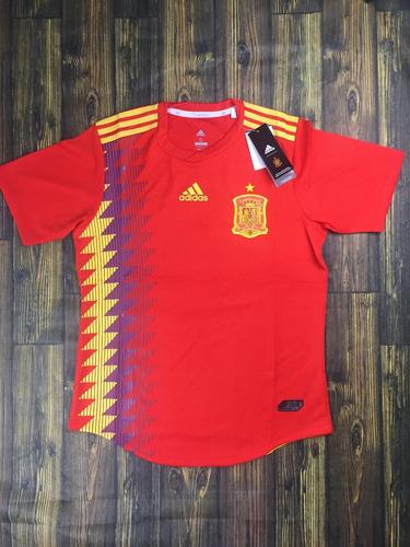 Camisa Espanha 2018 Modelo Jogador- Promoção f273acc7478a9