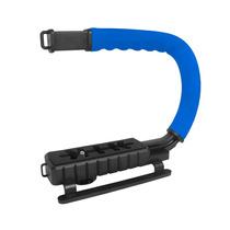 Grip Estabilizador De Mão Filmagem Vivitar Vivvpt200 Azul