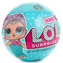 Boneca Lol Surpresa Serie 1 Surprise Bola Grande Novo