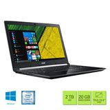 Notebook Acer Aspire A515-51g-70pu Ci7 20gb 2tb 940mx Win10
