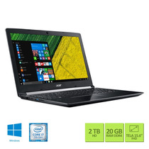 Notebook Acer Aspire A515-51g-70pu Ci7 20gb 2tb 940mx Win10