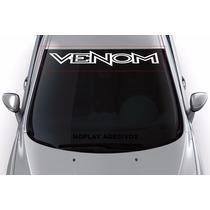 Adesivo Faixa Parabrisa Tuning Carro Esportivo Venom