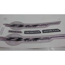 Kit Adesivos Honda Biz 125 Es 2010 Rosa
