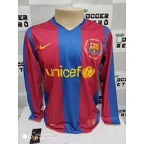 7dcaece1c7371 Busca Camisa Barcelona infantil mangá longa com os melhores preços ...