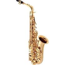 Ritmus ! Eagle Sa501 : Saxofone Alto Em Mib Laqueado