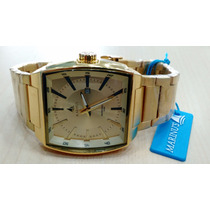 Relógio Original Atlantis Marinus Stilo Technos Dourado