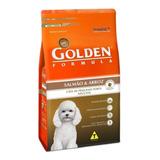Ração Golden Formula Premium Especial Cachorro Adulto Raça Pequena Salmão/arroz 10.1kg
