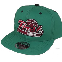 Boné Aba Reta Tom Hill First Bordado Snapback