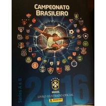 Campeonato Brasileiro 2016 Álbum + 300 Figurinhas S/ Repetiç