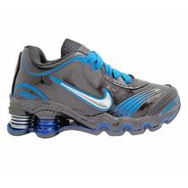 Tênis Para Criança Nike Shox Turbo Preto E Azul