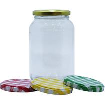 10 Vidro Para Salada No Pote De 500ml Papinha Compota