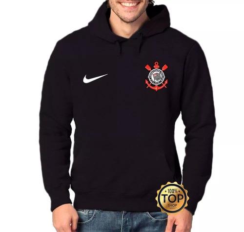 Blusa Moletom Corinthians Time Futebol Moleton Frio Unissex 09c9c4ae2fe47