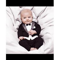 Macacão De Bebê Social Importado Estampado No Tecido