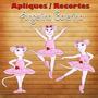 Aplique / Recortes - Angelina Balerina