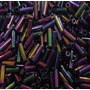 Canutilho 7mm - Multicolorido Irisado 500 Gramas - Jablonex