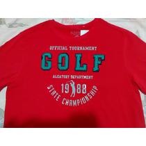 Camiseta Aleatory,nova, Original,vermelha- Muito Barato!